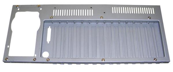 4u Aluminum Stylish Dual Door 6x5 25 Quot 4x3 5 Quot Hdd Bay