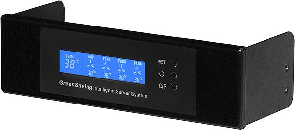 Intelligent Green Saving LCD Display & Fan Control